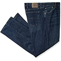 Wrangler Mens ZM300HBB Big & Tall Classic Straight Fit Jean Jeans - Blue