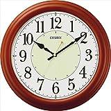 シチズン クォーツ掛時計 【壁掛け かべかけ アナログ あなろぐ インテリア しちずん スイープ秒針 連続秒針 F7105-03】