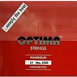 [OPTIMA]オプティマ マンドリン弦 レッド セット弦 8本入り