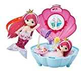 ミミの世界リトルミミマーメイドプリンセスシェルシャワールーム、リトルドールのおもちゃ Little Mimi Mermaid Princess Shell Shower Room, Little Doll Toy [並行輸入品]