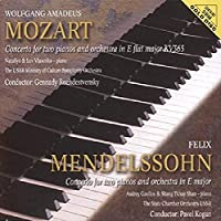 Mozart: Cto for Two Pnos by VLASENKO / USSR SYM ORCH / ROZHDESTVENSKY