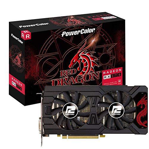 PowerColorレッドドラゴンRadeon RX 570Axrx 5708gbd5–3dhd / OC