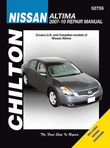 Download Chilton Nissan Altima Repair Manual 2007 - 2010: Covers U.s. and Canadian Models of Nissan Altima 2007 Through 2010 (Chilton's Total Car Care Repair Manual) 1563929074