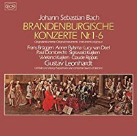 J. S. Bach: Brandenburg Concertos by Gustav Leonhardt (2015-05-20)