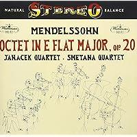 メンデルスゾーン:弦楽八重奏曲、ベートーヴェン:弦楽四重奏曲第4番、第8番、第9番