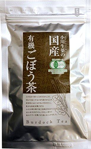 小川生薬 国産有機ごぼう茶 12包入