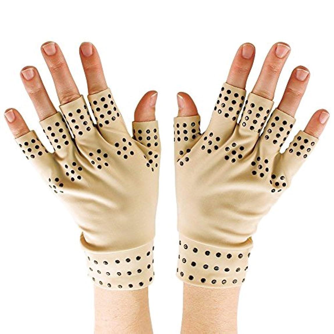 六フェローシップスーパーマーケットSODIAL 磁気療法手袋の圧縮関節炎の循環 関節の治癒をサポート