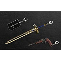 Fate/Zero メタルチャーム Limited Model エクスカリバー&トンプソン・コンテンダー