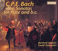 Cpe Bach: Flute Sonatas