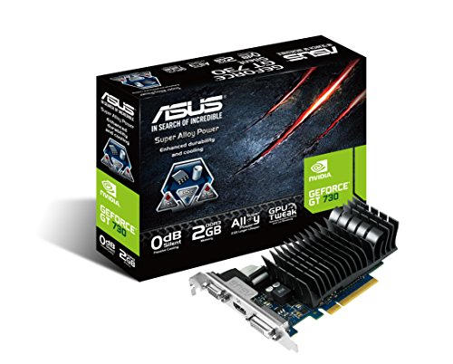 ASUS GeForce GT 730搭載 グラフィックボード GT730-SL-2GD3-BRK