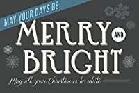 May Your日Be Merry and Bright 24 x 36 Giclee Print LANT-56598-24x36