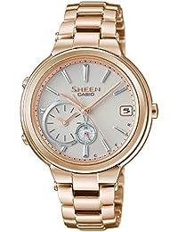 [カシオ]CASIO 腕時計 SHEEN Voyage TIME RING Series スマートフォンリンクモデル SHB-200CG-9AJF レディース