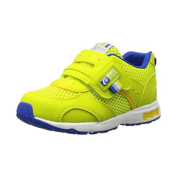 [キャロット] 運動靴 CR C2146 グリー...の商品画像