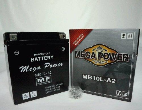バイク バッテリー GS400 型式 GS400 一年保証  MB10L-A2 密閉式