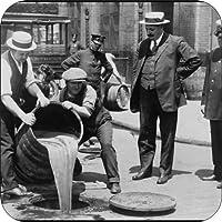 4コースターのセットのコルクBacking Prohibition Begins