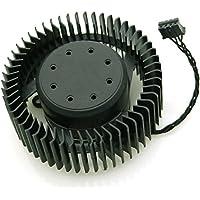 Funeshop GTX460 GTX480 GTX580 GTX680 GTX660 GTX670用 グラフィックカードファン 冷却ファン BFB0712HF 12V 1.8A 65mm 4 Pin