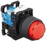 富士電機 照光押しボタンスイッチ 突形Φ24 赤 AR22E0L-10E3R