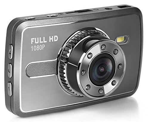 『TA-Creative 広角 170°300万画素 フルHD 1080P 2.7インチ 液晶搭載 セキュリティ ドライブレコーダー 常時録画 Gセンサー 駐車モード ナイトビジョン TA-008C (シルバー)』の1枚目の画像