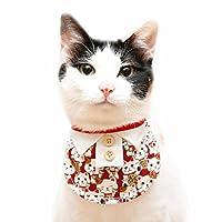 ペットの装飾猫の犬の三角タオルのビブスビブスのスカーフの写真の小道具ペット用品 (色 : A, サイズ さいず : S s)