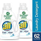 All Liquid Laundry Detergent, Free Clear, 46.5 Ounce by all 画像
