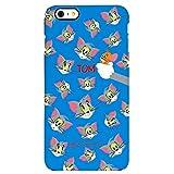 【iPhone 6 6S / アイフォン 6 6S 対応 ケース】 Tom and Jerry Bumper トムとジェリー バンパー ケース スマホ カバー BlueTom / ブルートム