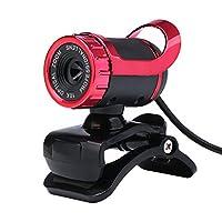 alloet 12.0MP 360度回転可能640p HD WebカメラネットワークカメラW /内蔵マイクfor PC Laptop