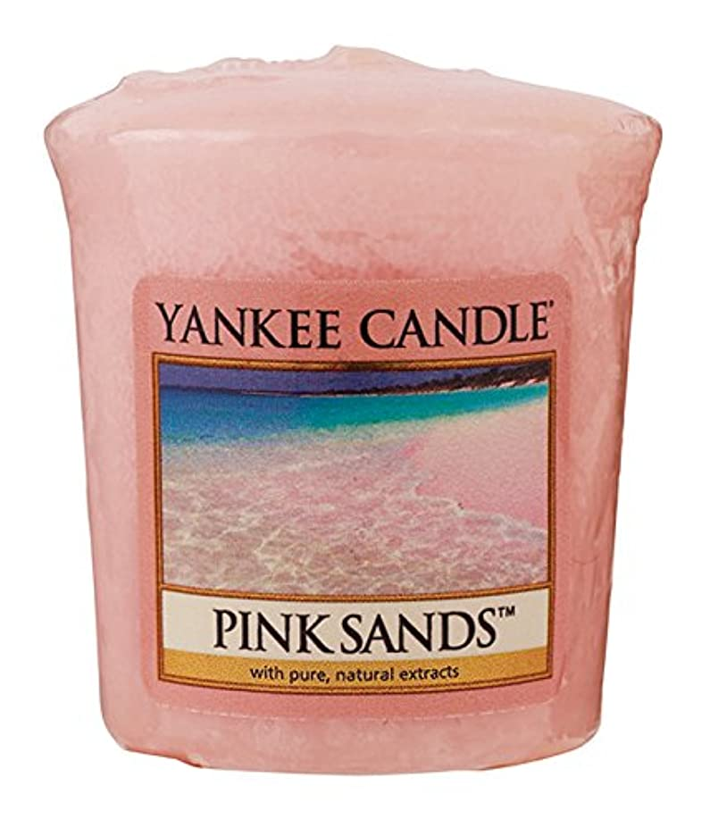 資本頼むフェードヤンキーキャンドル サンプラー お試しサイズ ピンクサンド 燃焼時間約15時間 YANKEECANDLE アメリカ製