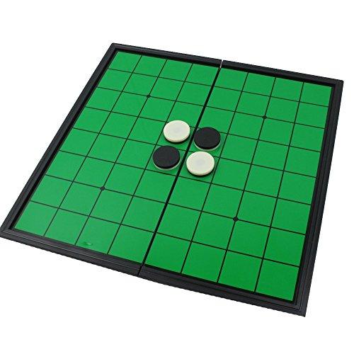 KUJIRAZDOU マグネット式 オセロ リバーシ ボードゲームの定番 折り畳み式 コンパクトに収納
