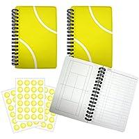 テニスノート【A6サイズ】作戦ノート3冊+シール3枚セット プライム