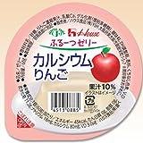 Amazon.co.jpふるーつゼリー カルシウムりんご 60g