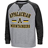 Colosseum Youth Appalachian State Mountaineersフリースクルーネックスウェットシャツ