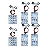 デリカ D5 FLUX LED ルームランプ 6 点 セット 92連