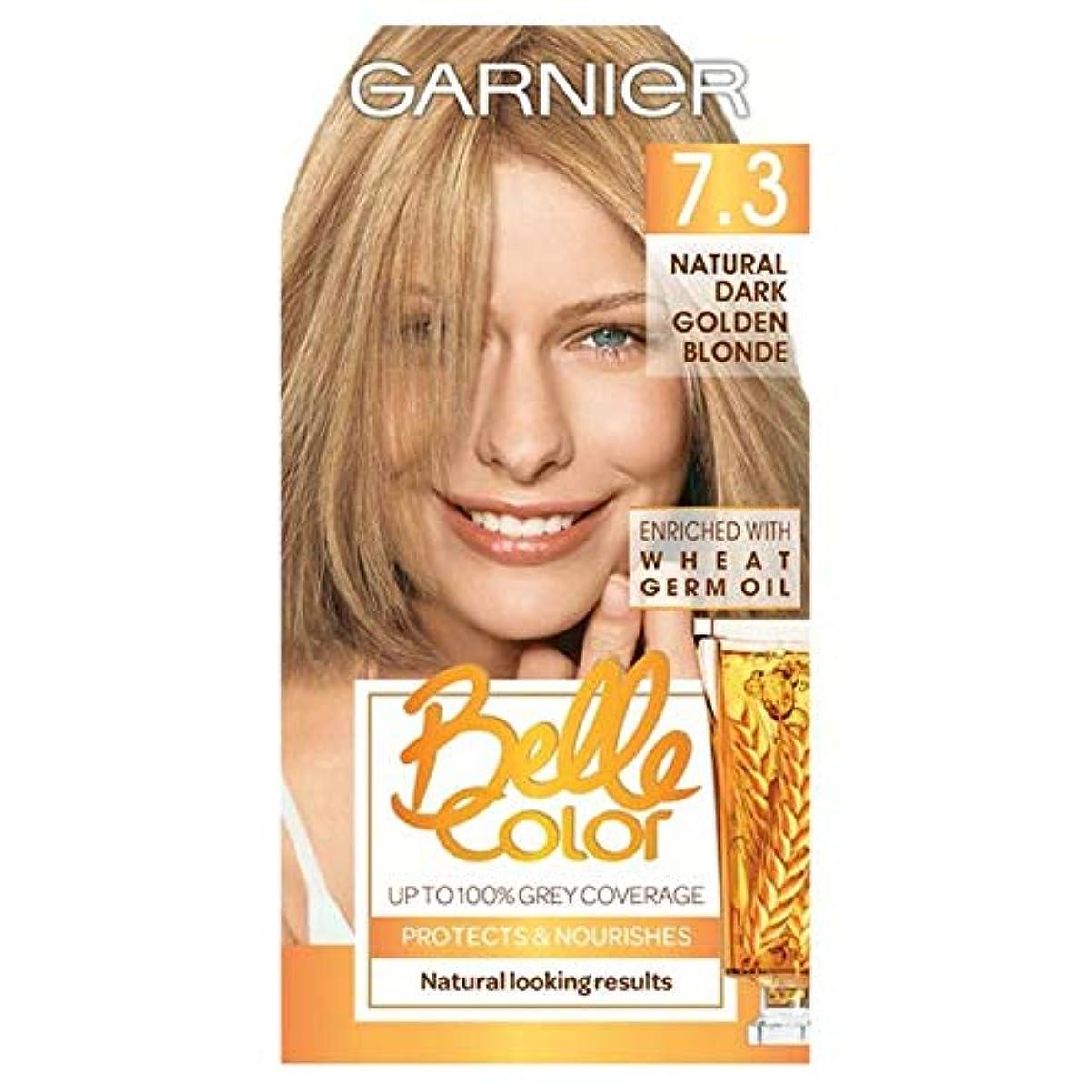 アジアプレビスサイト落とし穴[Belle Color] ガルニエベルカラー7.3暗い金色のブロンド - Garnier Belle Color 7.3 Dark Golden Blonde [並行輸入品]