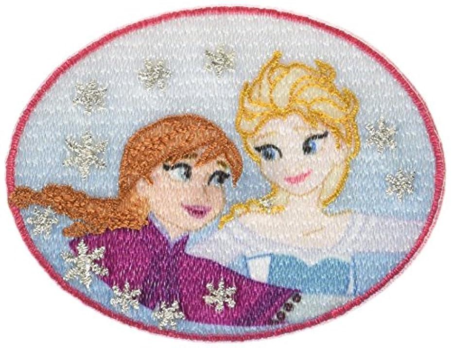 領域承知しました生きているパイオニア ワッペン ディズニー アナと雪の女王 アナ エルサ MY5502-MY349