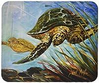 Caroline's Treasures Loggerhead Sea Turtle Mouse Pad/Hot Pad/Trivet (JMK1118MP) by Caroline's Treasures