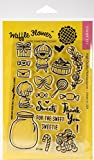 Waffle Flower Crafts 271109 Sweets - Clear Stamps 4X6