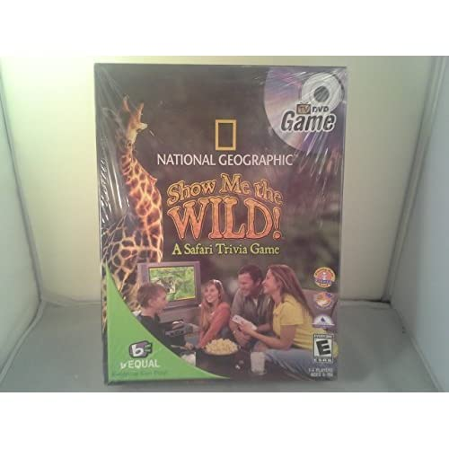 おもちゃ National Geographic Show Me the Wild! A Safari サファリ Trivia Game. Tv DVD Game [並行輸入品]