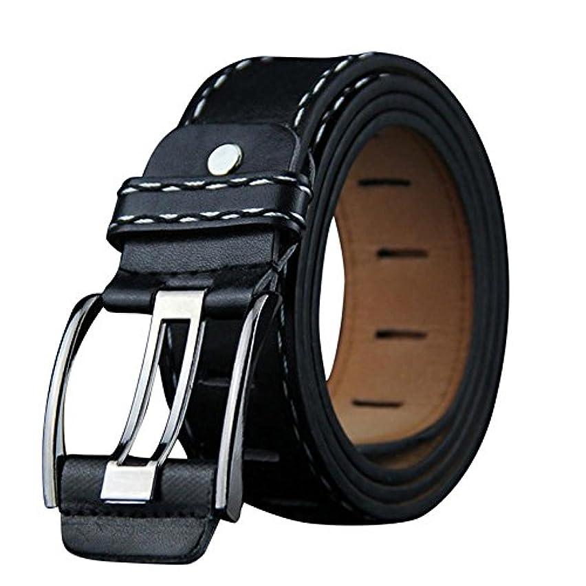 試用行為廊下Mhomzawa ベルト メンズ 革 ビジネス ピンバックル 紳士 カジュアル サイズ調整 高級レザー おしゃれ ギフトタイプ プレゼント 父の日
