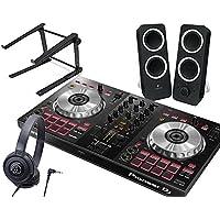 PIONEER DJスタートセット DDJ-SB3 + Z200 + ATH-S100 + PCスタンド (DJコントローラー + スピーカー + ヘッドホン + スタンド) SERATO DJ LITE対応