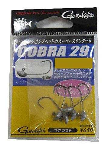 がまかつ(Gamakatsu) コブラ29(NSB) #6-1.4g