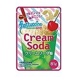 【販路限定品】ブルボン フェットチーネグミ クリームソーダ味 81g×6袋