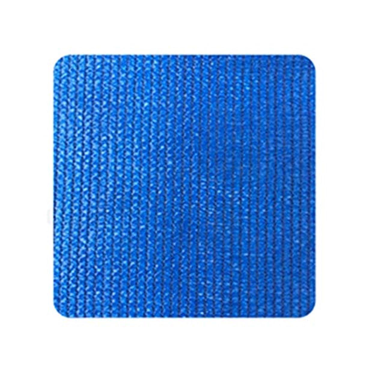 することになっているカーフハーネスPENGFEI オーニングシェード遮光ネット 三角形 庭園 シェード 通気性がある、 185G /㎡、 3色、 サイズカスタマイズ (色 : 青, サイズ さいず : 3.6X3.6X5.1M)
