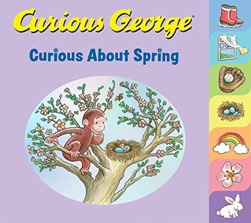 Curious George Curious About Spring (English Edition)