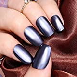 Tradico®6ml Metallic Nail Polish Mirror Blue Metal Varnish UR SUGAR Manicure Decor DIY
