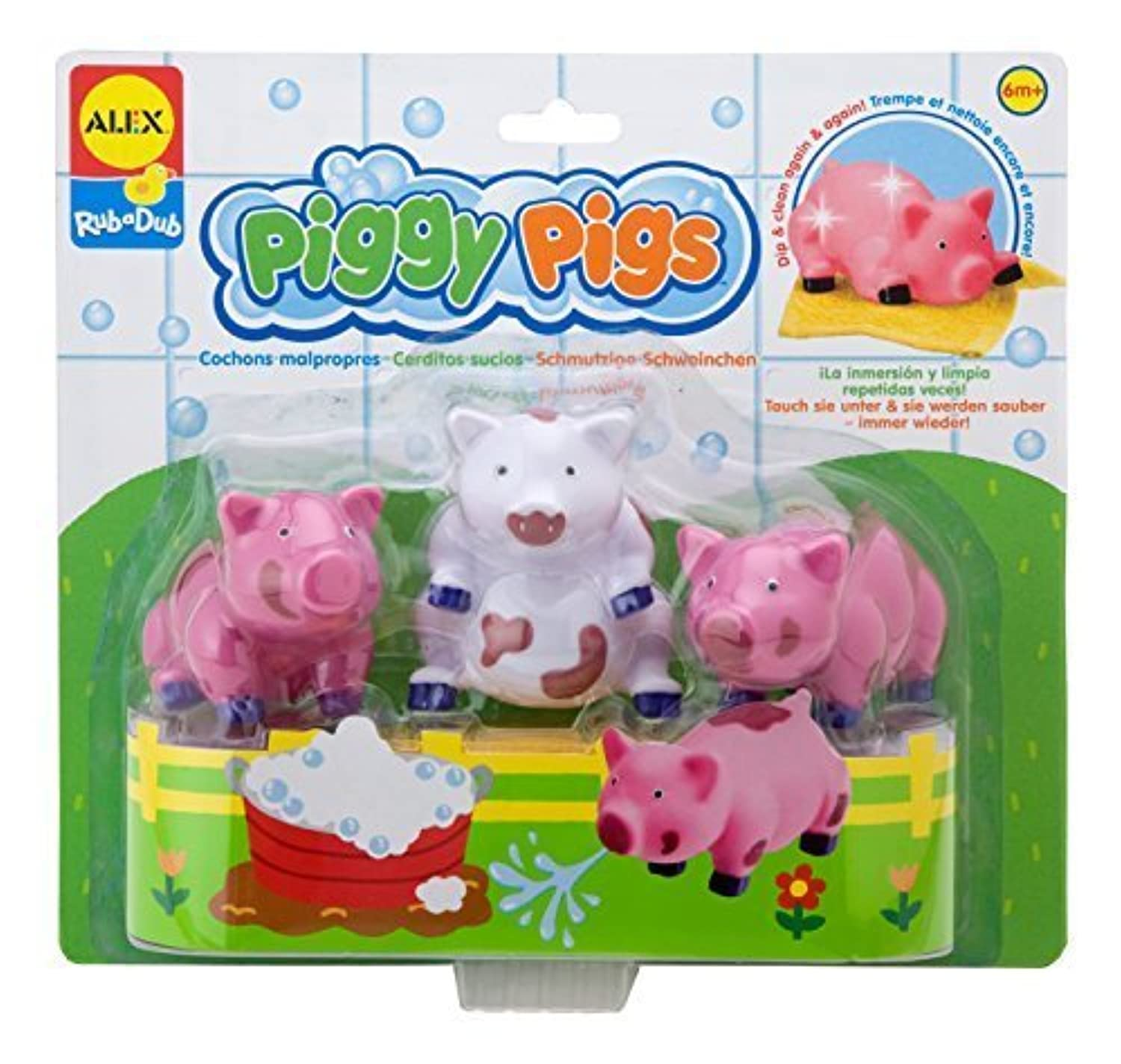 アレックス ALEX Toys Rub a Dub Rub a Dub Piggy Pigs in the Tub by アレックス ALEX Toys (並行輸入品)