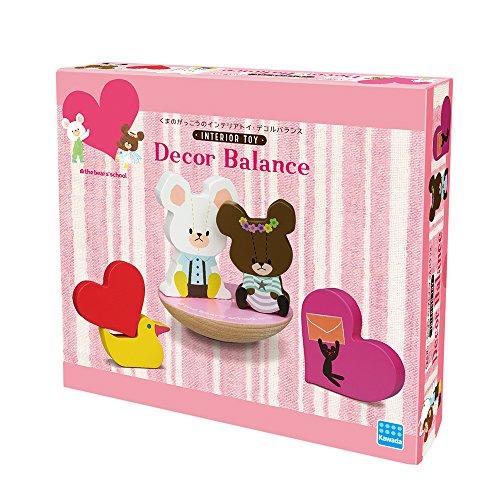 [해외]곰의 학교 데코 르 균형 WDB-01/Kuma`s school system decorated balance WDB-01
