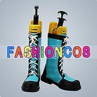 ★サイズ選択可★男性25CM UA0332 ザ・キング・オブ・ファイターズ レオナ・ハイデルン Leona コスプレ靴 ブーツ