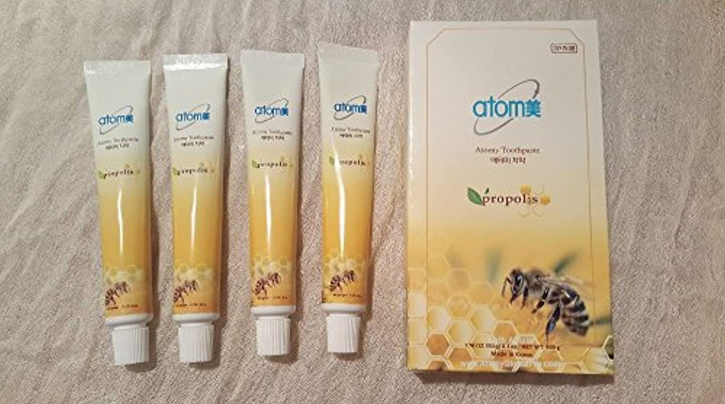 全体にローラー鉛アトミ化粧品 アトミ 歯ミガキ (歯磨き粉) 50g 1本 並行輸入品