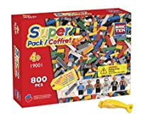 Brictek 19001スーパーパック800個Building Blocks ( Compatible With Legos ) with 2ブロックRemovers