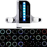 防水 LED自転車ホイールライト スポークライト 30種類模様変化 4秒間 タイヤ用ライト サイクリング用デコレーションランプ 夜道安全 事故防止 通勤 通学 (30個のパターン)